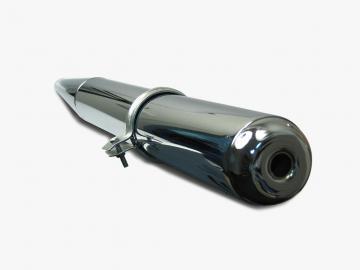 Auspuff chrom passend für S50, S51, S70, SR50, SR80, KR51/2