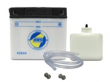 Batterie 6V 4,5Ah (mit Säurepack + Deckel) AWS* passend für für KR51, KR51/1, KR51/2, SR4-2, SR4-3, SR4-4, SR50