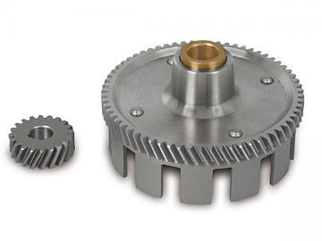 Kupplungskorb + Antriebsritzel (65+20 Zahn) S51, KR51/2, SR50