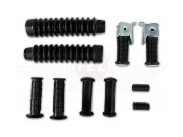 Set - Gummiteile für Rahmen, Schaltung, Lenker, Gabel passend für S50, S51, S70, S53, S83