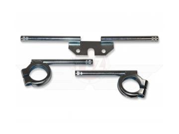 Blinkerträger im Satz vorn+hinten gerändelt verzinkt für runde Blinker Ø10mm passend für S50, S51, S70