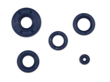 Wellendichtringe im Satz S51, S70, KR51/2, SR50, SR80 blau (4x Motor) TCK*