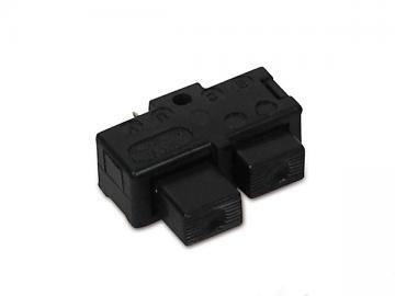 Doppeltaster klein von Schalterkombination passend für S51, S70, SR50, SR80