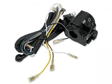 Schalterkombination mit Kabel, vorderer Gehäusehälfte und Kupplungshebel passend für S51, S51 Enduro, S70, S53, S83