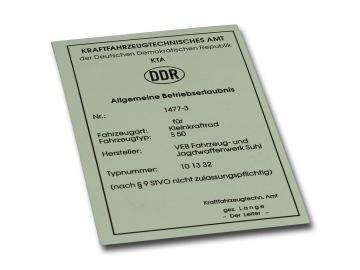 BTE S50 (für Sammlerzwecke)