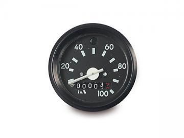 Tacho Ø60 mit Blinkerkontrolle (bis 100 km/h)* passend für S51, S70, S53, S83