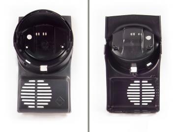 Scheinwerfergehäuse schwarz passend für SR50N, SR50B, SR50C, SR50CE, SR80CE, SR50/1B, SR50/1C, SR50/1CE, SR80/1B/C/CE