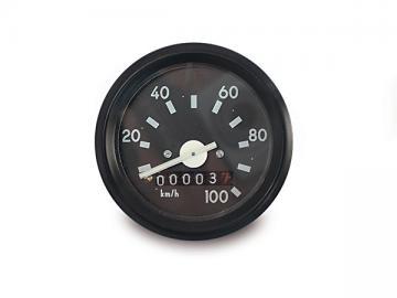 Tacho Ø60 ohne Blinkkontrolle (bis 100 km/h)* passend für S51, SR50