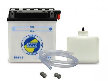 Batterie 12V 5,0Ah (mit Säurepack) AWS* passend für S51, S70, SR50, SR80