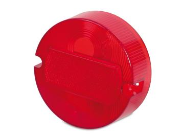 Rücklichtkappe - Lichtaustritt rot Ø100mm (2 Schrauben) (E-Prüfzeichen) passend für S50, S51, KR51/2, SR50