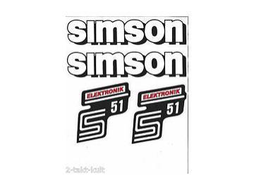 Aufkleber Set elektronik rot S51