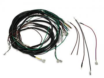 Kabelbaum (mit Schaltplan) Aka Electric* passend für S50, S51, S70