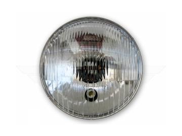 Scheinwerfereinsatz mit Aufnahme für Standlicht und Glühbirne (Reflektor, mit E-Prüfzeichen) passend für S50, S51, S70