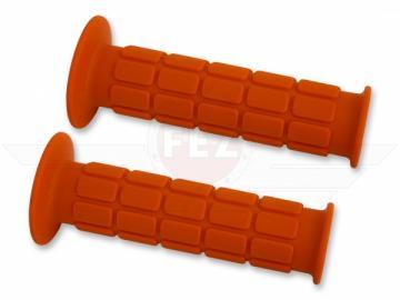 Simson Lenkergummi im Satz (orange) passend für S50, S51, S70, SR50, SR80, S53, S83