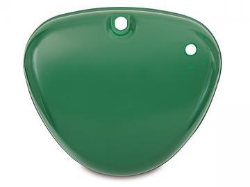 Seitendeckel Zündschloss seitig Billiardgrün